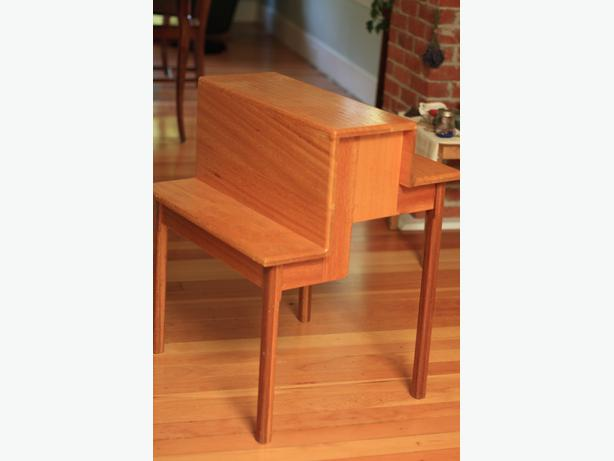 Solid wood plant stand duncan cowichan