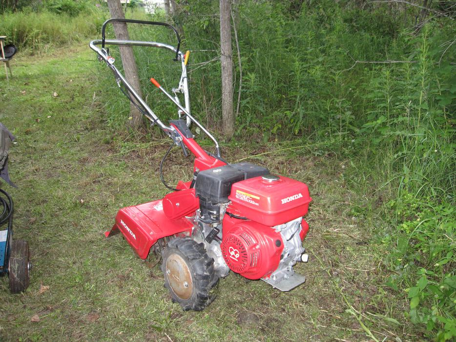 Honda Fr800 Rototiller Like New Outside Nanaimo