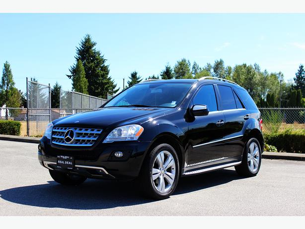 2009 Mercedes Benz M Class Ml350 4matic Outside Victoria