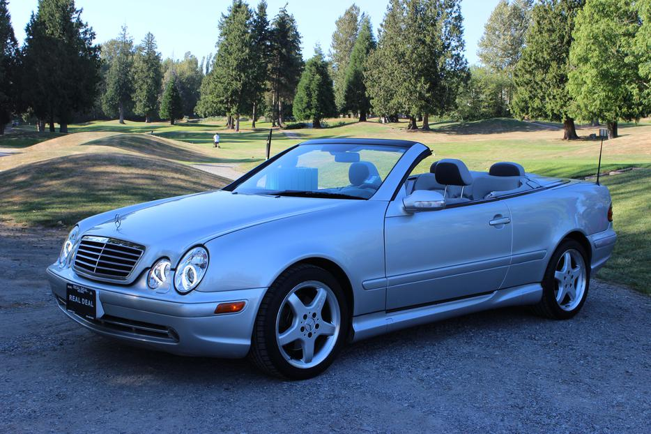 2002 mercedes clk430 convertible loaded for sale outside. Black Bedroom Furniture Sets. Home Design Ideas