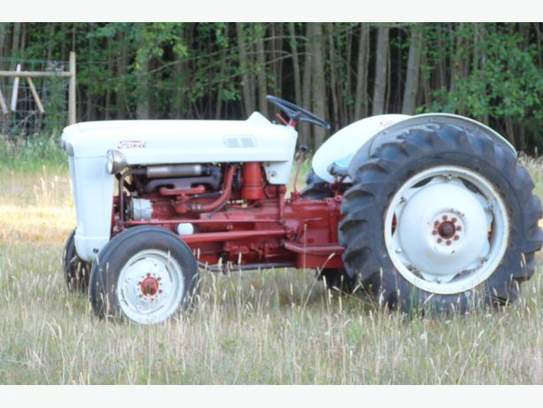 1956 Ford Tractor : Ford jubilee outside victoria mobile