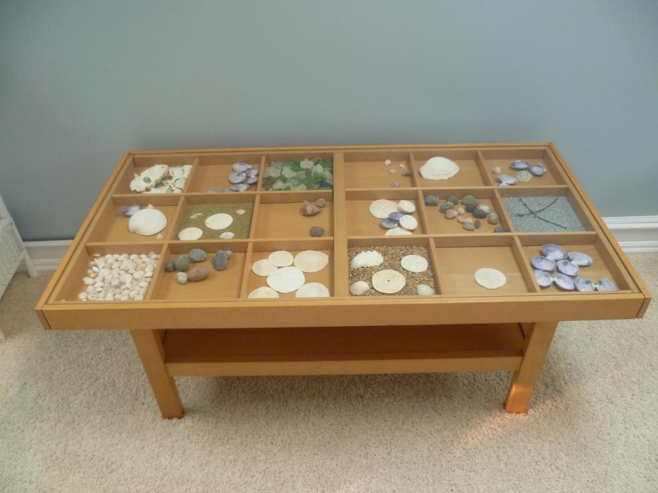 Ikea display coffee table with glass top esquimalt view royal victoria Display coffee table with glass top