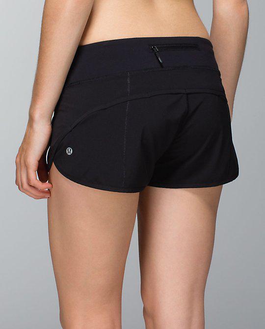 Lululemon Speed Short In Black, Size 10 Saanich, Victoria