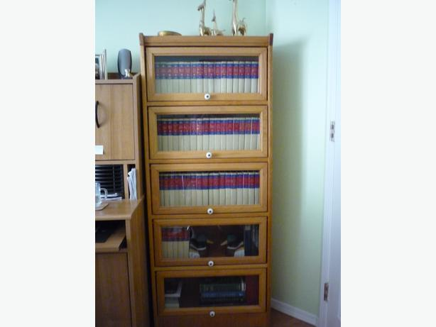 Barrister type 5 shelf bookcase central saanich victoria for Types of bookshelves