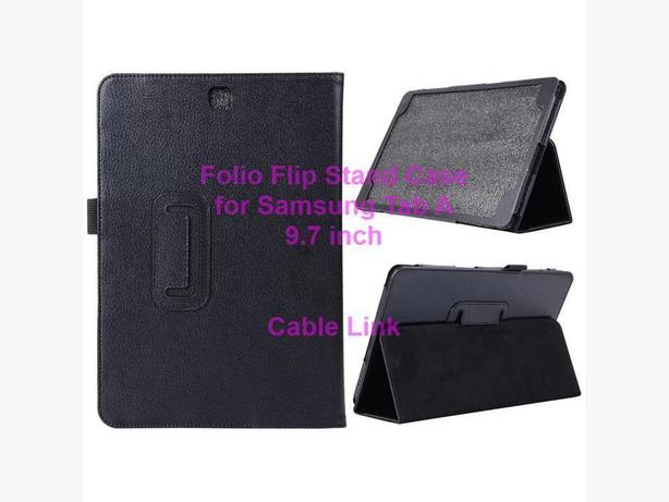 Folio Flip Stand Leather Case for Samsung Tab A 9.7 inch