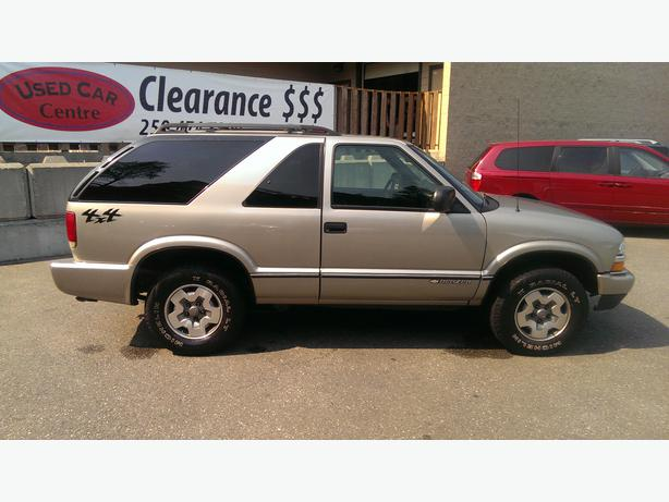 1995 Chevrolet Blazer 2dr Suv 4wd V6 Auto West Shore Langford Colwood Metchosin Highlands Victoria