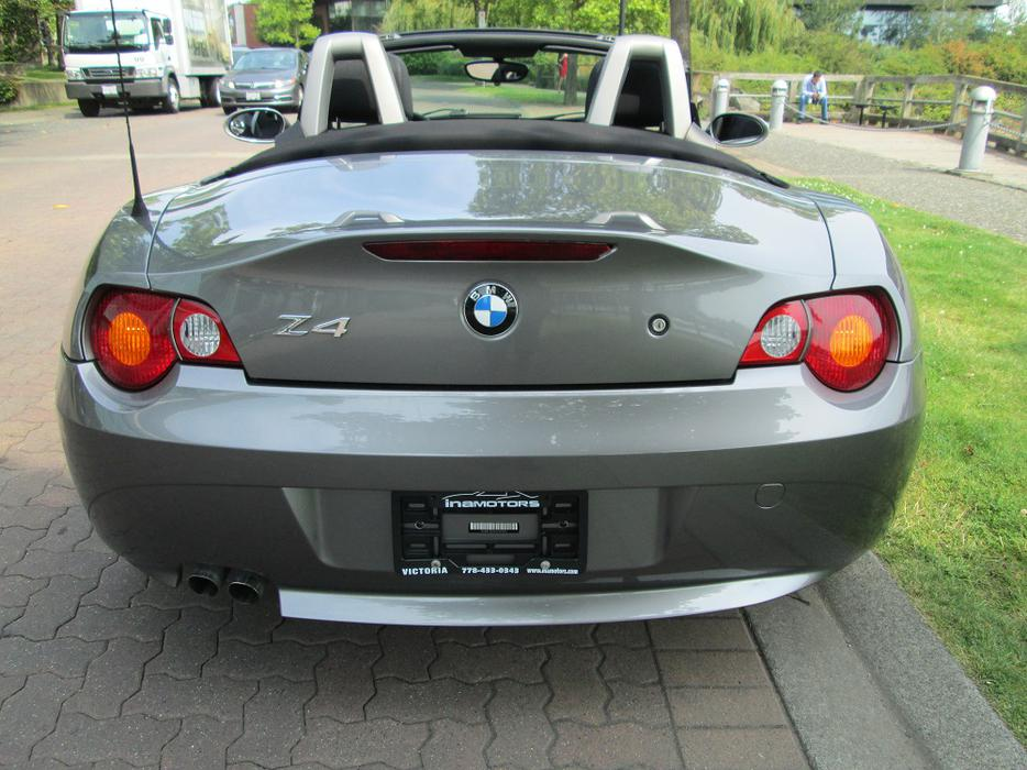 2003 Bmw Z4 Convertible Fully Loaded Outside Nanaimo