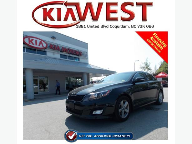 2014 Kia Optima Lx Coquitlam Incl Port Coquitlam Amp Port