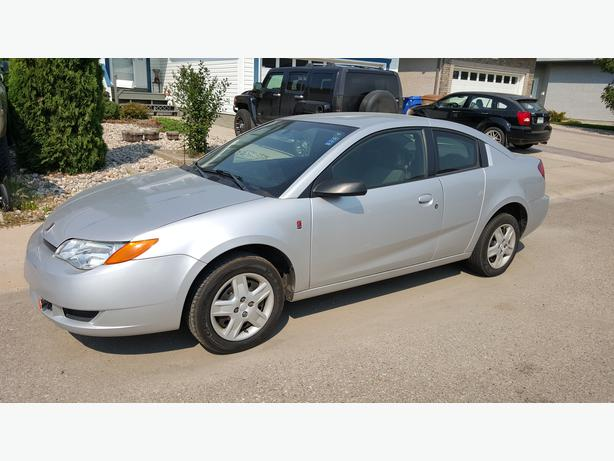 2007 saturn ion quad coupe only 42700 original kms east. Black Bedroom Furniture Sets. Home Design Ideas