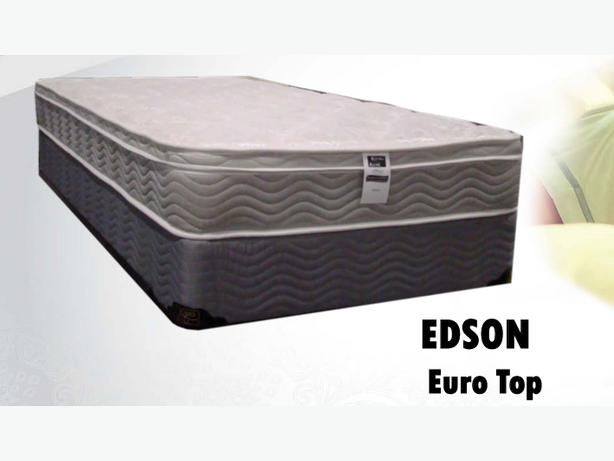 brand new queen mattress and box spring only 498 free delivery central regina regina. Black Bedroom Furniture Sets. Home Design Ideas