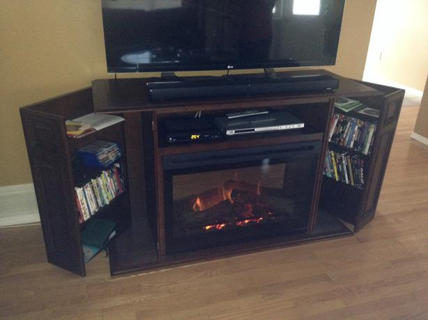 Electric Fireplace Entertainment Unit North Regina Regina