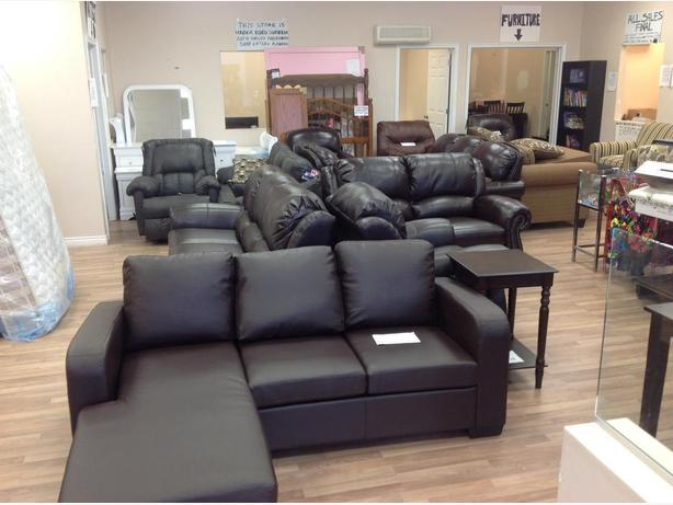 Sofas, loveseats,chairs, recliners, dressers, bedroom sets and more.