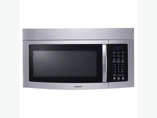 Samsung over the range microwave west regina regina - Red over the range microwave ...