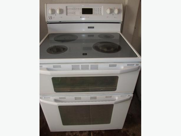 Flat Top Stove ~ Maytag double oven flat top stove central ottawa inside