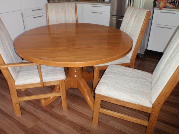 Dining room table oliver okanagan