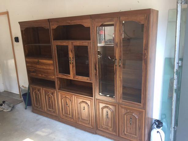 3 piece shelving unit duncan cowichan. Black Bedroom Furniture Sets. Home Design Ideas