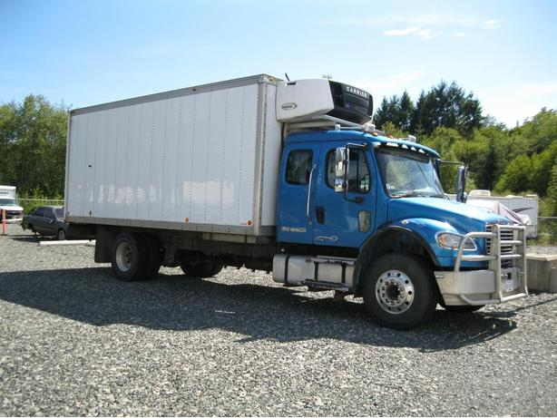 M2-106 Freightliner with Legal Sleeper and C-7 Cat Engine, With or Without Box