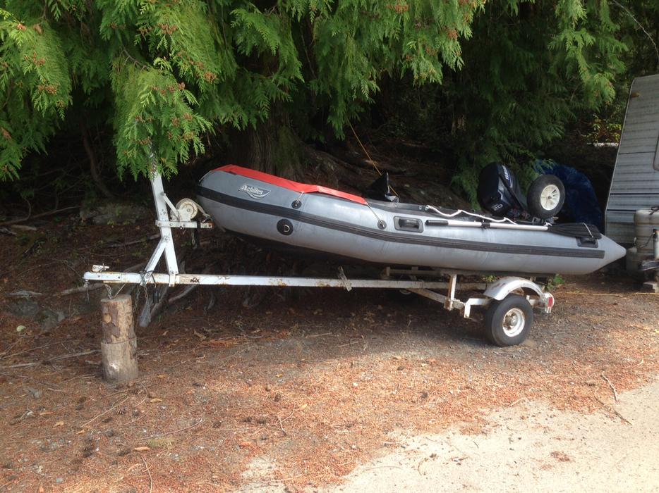 Boat And Motor And Trailer Cedar Nanaimo