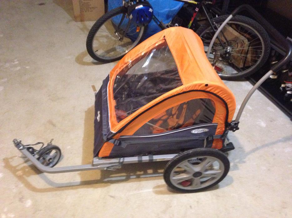 Instep Quick N EZ Bicycle Trailer - Double West Shore ...