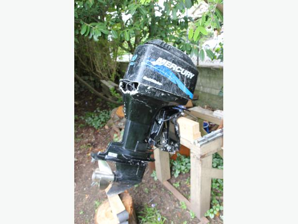 90 hp mercury outboard engine 2 stroke victoria city for Used 90 hp outboard motors