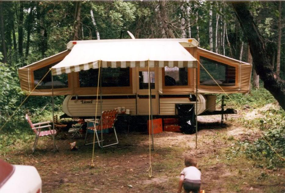 78 Lionel Tent Trailer In Great Condition South Nanaimo