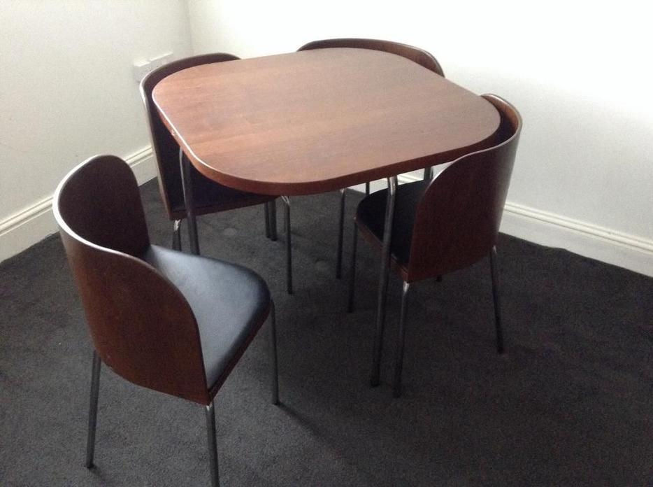 Modern Ikea Dining Room Table W Four Chairs Victoria City