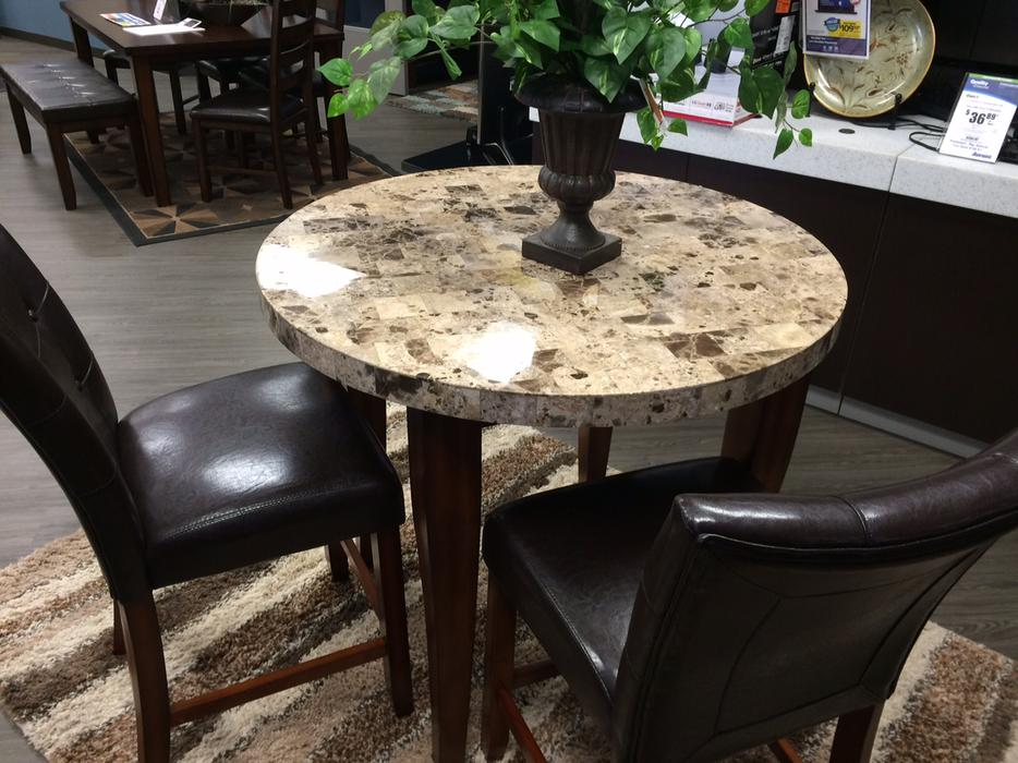 Marble dining set free delivery in kelowna