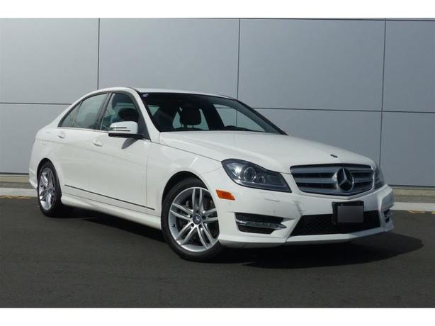 2013 mercedes benz c class c300 4matic low kms warranty for Mercedes benz extended warranty coverage