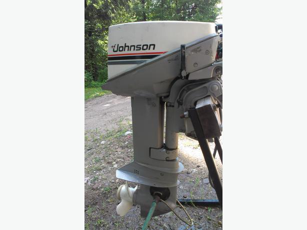15 Hp Johnson Outboard Motor Buckingham Sector Quebec