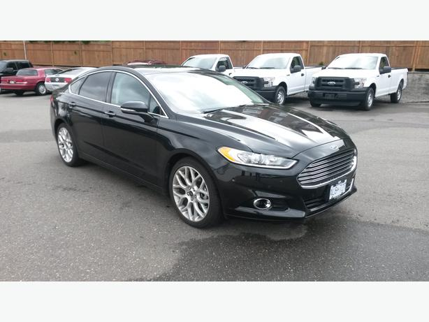 2014 black ford fusion titanium awd 2 0l ecoboost fully loaded surrey incl white rock. Black Bedroom Furniture Sets. Home Design Ideas