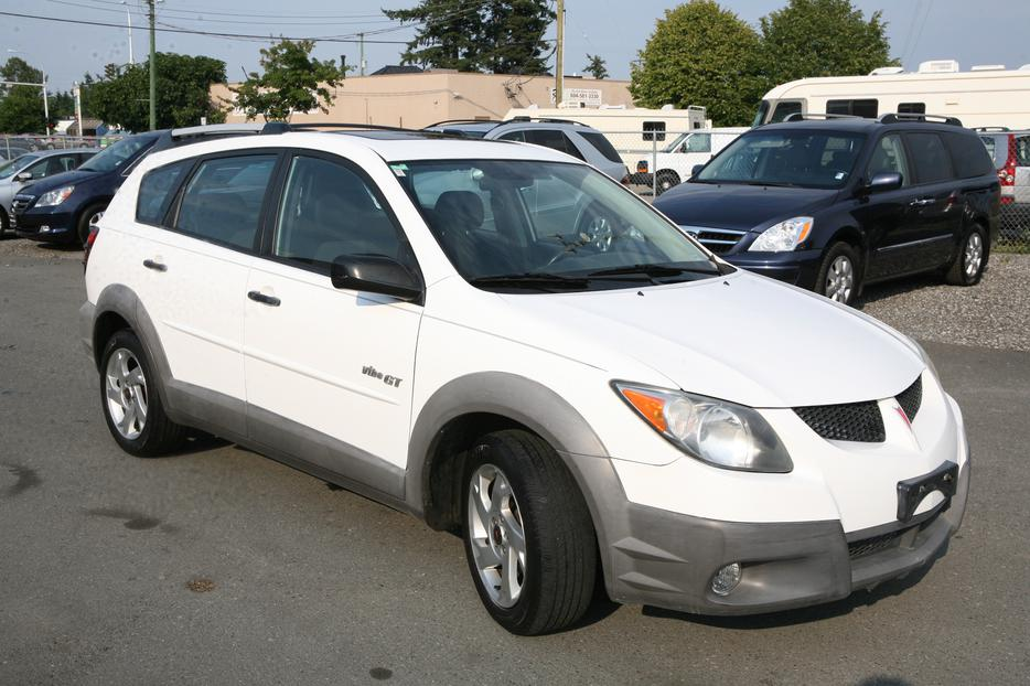 2003 pontiac vibe gt surrey incl white rock vancouver. Black Bedroom Furniture Sets. Home Design Ideas