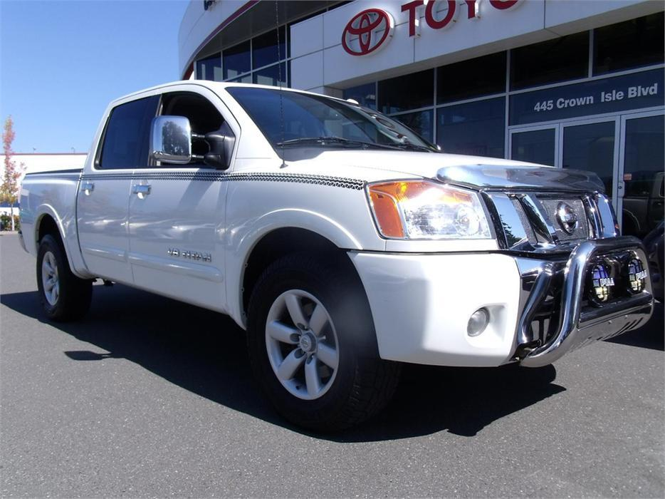 2010 nissan titan le outside nanaimo parksville qualicum beach mobile. Black Bedroom Furniture Sets. Home Design Ideas