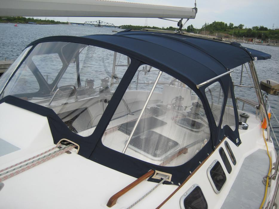 Sooke Upholstery Auto Marine Commercial Boat Top Canvas