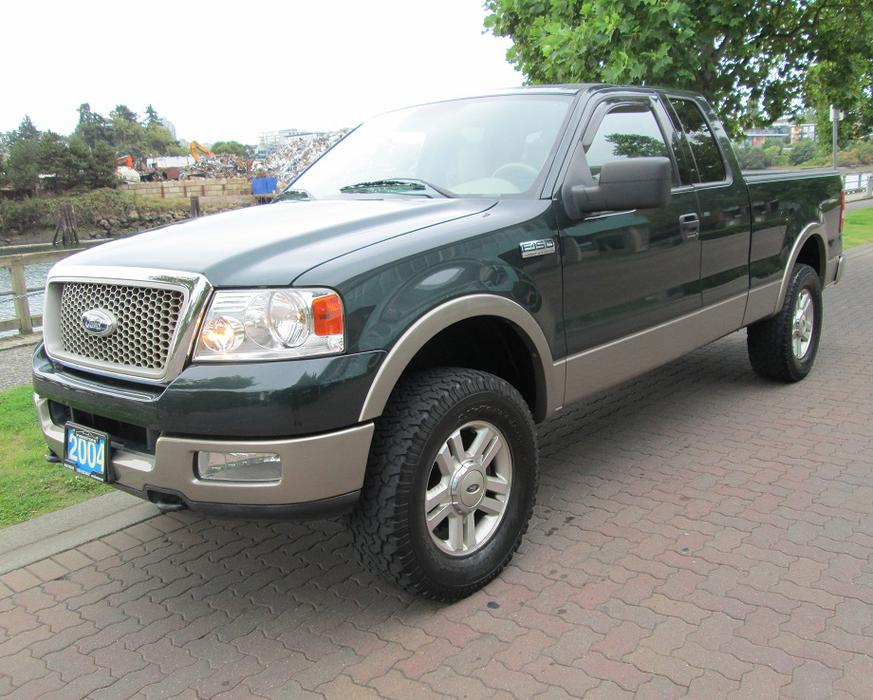 2004 ford f150 lariat 4x4 fully loaded local no. Black Bedroom Furniture Sets. Home Design Ideas