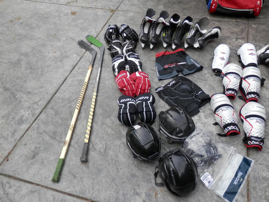 Kids Hockey Equipment Outside Comox Valley, Campbell River ...