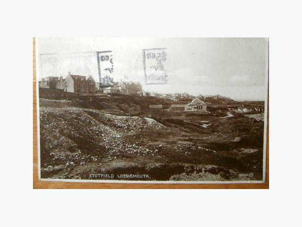 1926 Postcard Stotfield Lossiemouth, Scotland-c