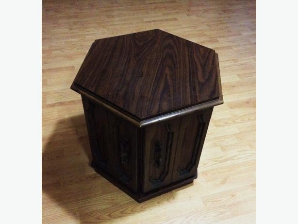 Hexagonal End Table Home Design Ideas and Pictures