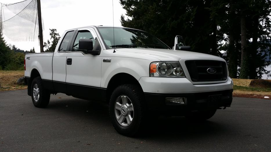 2005 ford f150 stx 4x4 auto 4 6 170kms north nanaimo. Black Bedroom Furniture Sets. Home Design Ideas