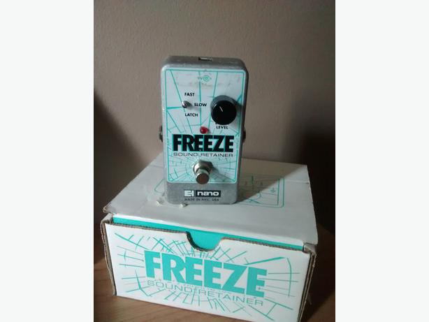 electro harmonix freeze pedal victoria city victoria. Black Bedroom Furniture Sets. Home Design Ideas