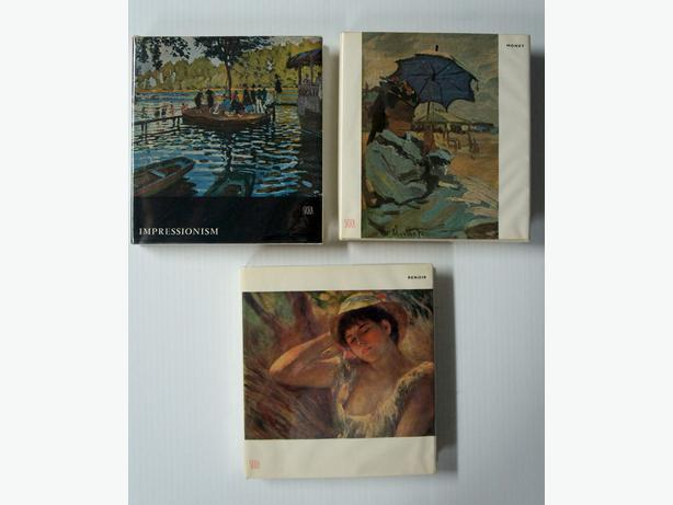 Skira Art Books Hardcover Monet, Renoir and Impressionism