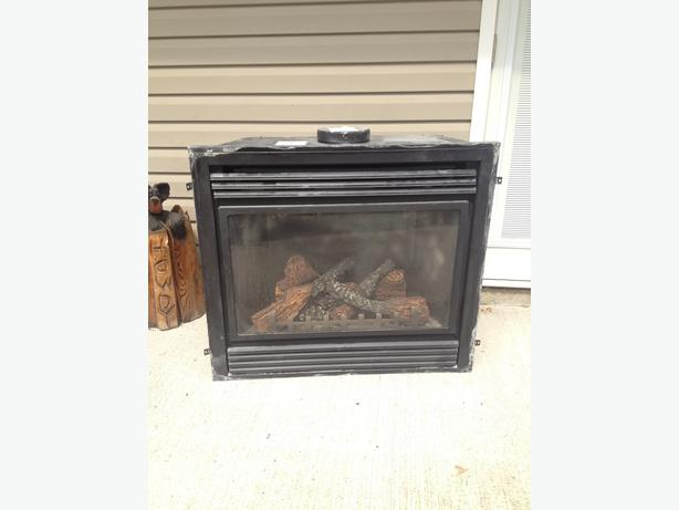 Napoleon Propane Fireplace Insert With 100 Lb Tank South