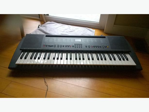 like new yamaha keyboard west shore langford colwood
