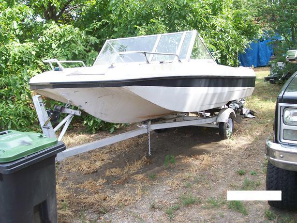 Larson Bowrider 16',  50hp Evinrude outboard