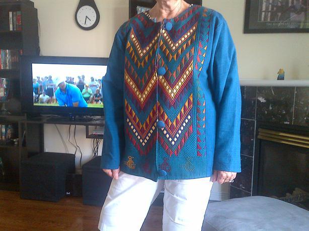 Mayan Artisan jacket