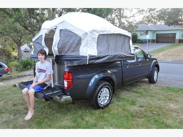 livinlite quicksilver tent camper for short bed truck. Black Bedroom Furniture Sets. Home Design Ideas