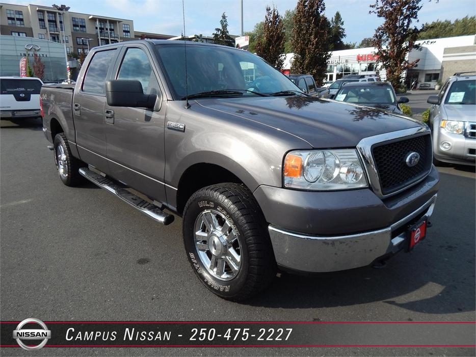 2006 ford f 150 xlt 4x4 supercrew outside nanaimo nanaimo. Black Bedroom Furniture Sets. Home Design Ideas