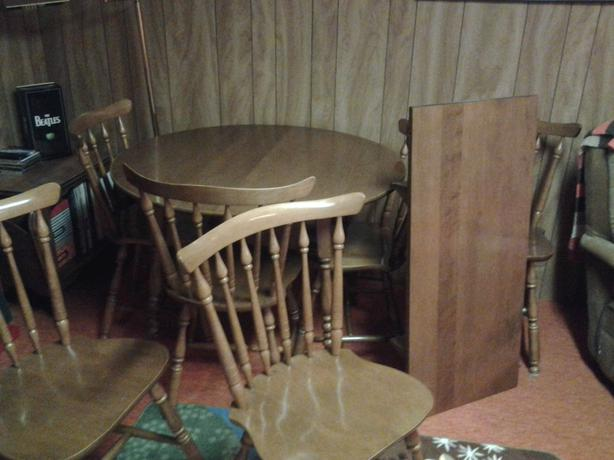 Kitchen Dining Table With Leaf South Regina Regina