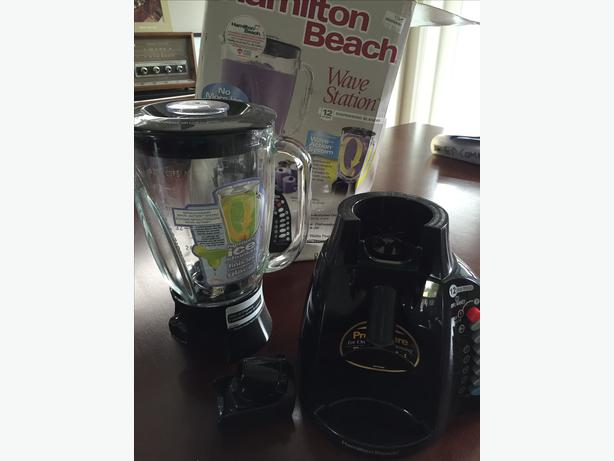 New blender with pour spout north regina regina for What brand of blender is used on the chew