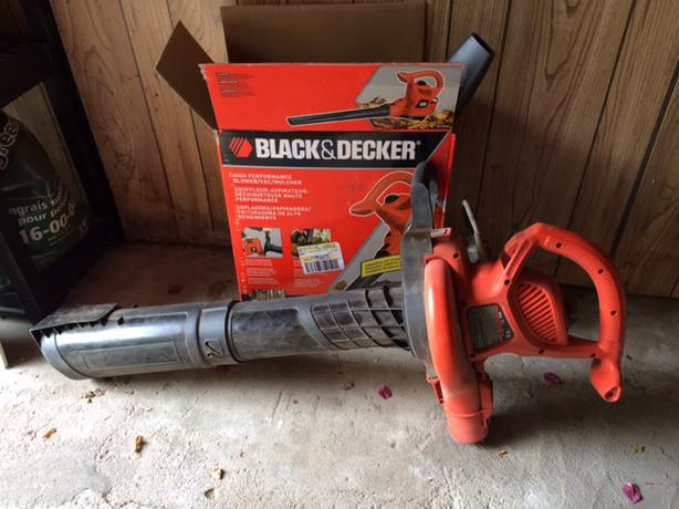 black and decker blower mulcher pictures to pin on pinterest