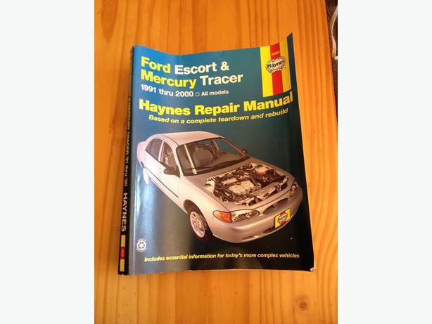 Ford Escort and Mercury Tracer shop repair manual
